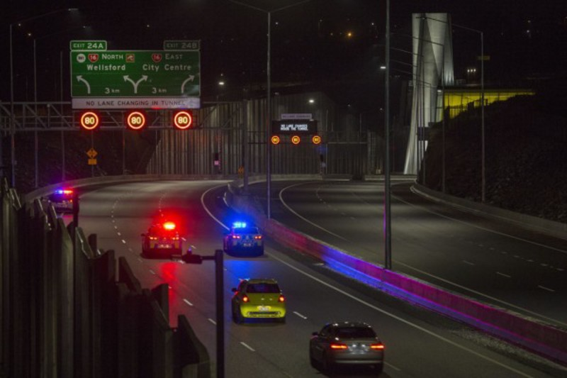 NZTA opens Waterview tunnel to traffic in Auckland