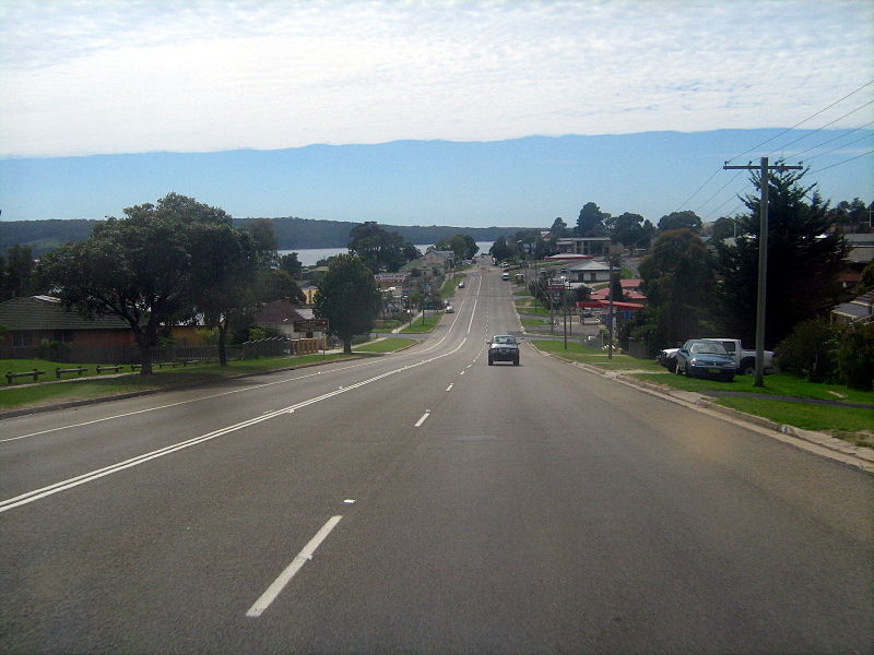 New South Wales road