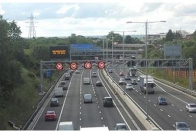 Road in UK