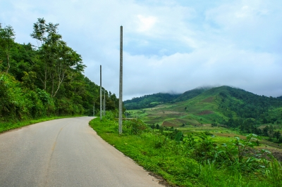 west africa road