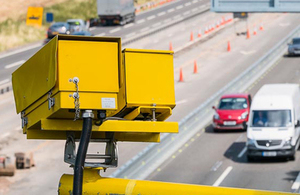 All speed cameras to turn yellow by October 2016