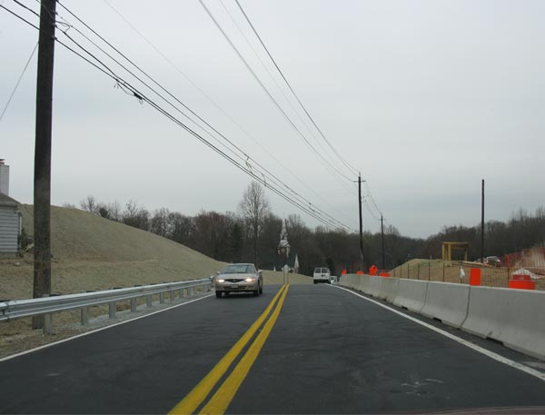 Intercounty Connector (ICC) tollway under construction at Redland Road in the state of Maryland, US. Image courtesy of Andrew Bossi.