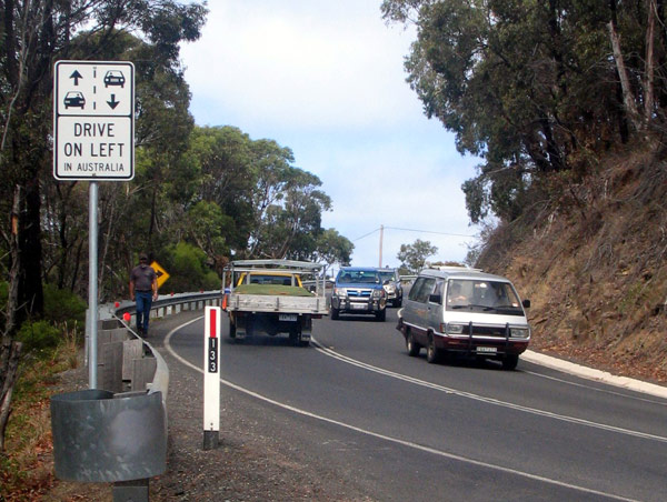 The Great Ocean Road  provides access to Bass Strait, Anglesea, Lorne, Apollo Bay and Port Campbell.