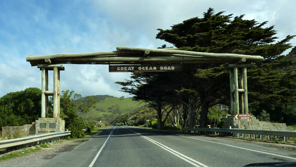 Great Ocean Road is a 243km stretch of road between the cities Torquay and Warrnambool in Victoria, Australia, Image courtesy of Bobak Ha'Eri.