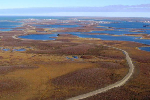 The Inuvik-Tuktoyaktuk highway will be in the Inuvialuit Settlement region. Image courtesy of the Government of Canada.