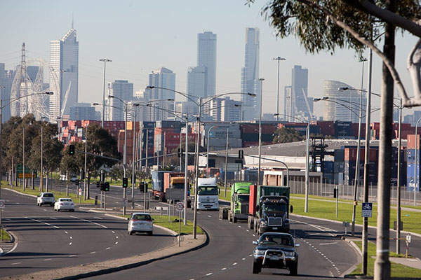 The East West Link was a proposed 18km-long road connection between the Eastern Freeway and the Western Ring Road in Melbourne. Image courtesy of Linking Melbourne Authority.