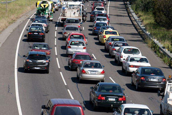 The East West Link road was conceived to relieve traffic congestion on the major metropolitan freeways. Image courtesy of Linking Melbourne Authority.