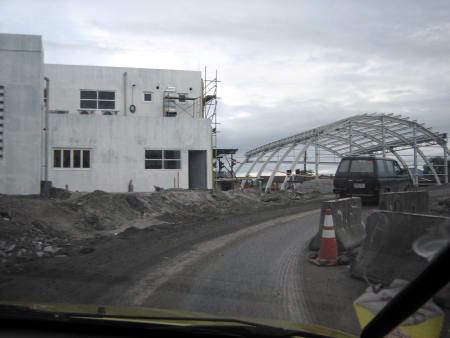 Construction of the North Luzon Expressway's operations management centre.