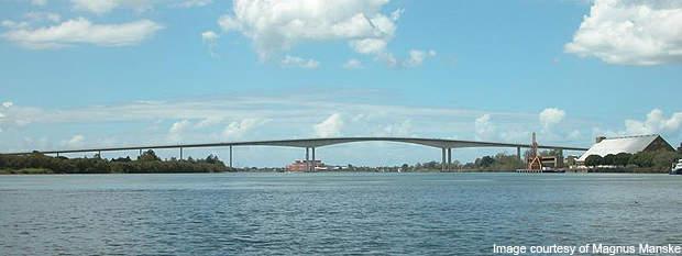 The Gateway Bridge.