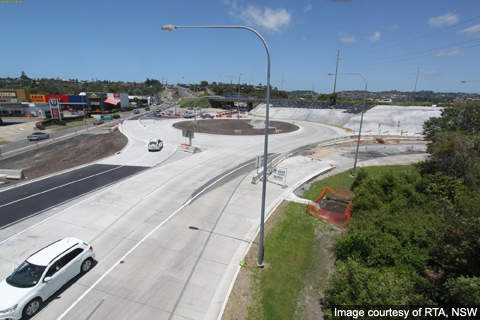 The upgrade of Banora Point section of the Pacific Highway was approved by the NSW Minister for Planning in February 2009.