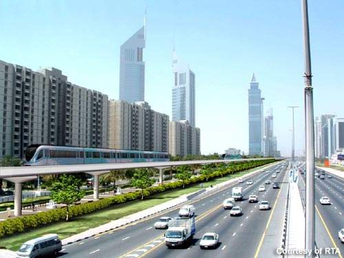AI Khail Road is one of the most important roads running parallel to Sheikh Zayed Road.