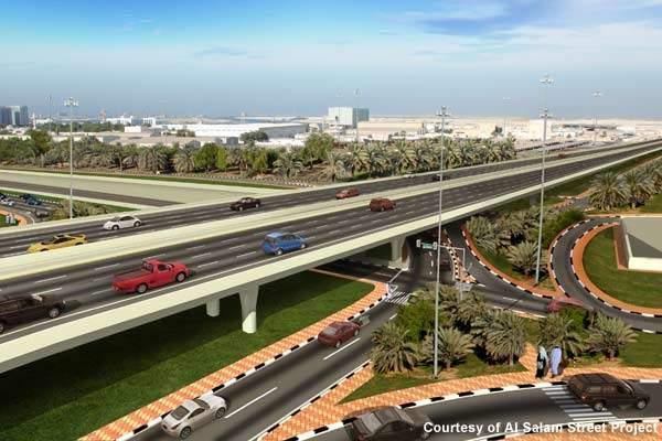 The Al Salam Street Project is an initiative by Abu Dhabi Municipality.