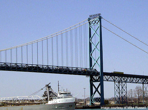 The I-75 Ambassador Bridge Gateway Project is the largest project ever undertaken by the Michigan Department of Transportation.