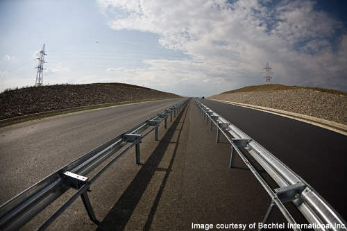 The four-lane Autostrada Transylvania will be the largest motorway in Europe.