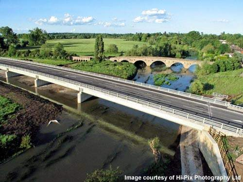 The Grade 11 Barford Bridge was constructed in the 1700s. The new bypass is expected to ease congestion.