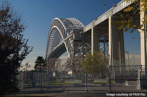 Bayonne Bridge is one of the longest steel arch bridges in the world.