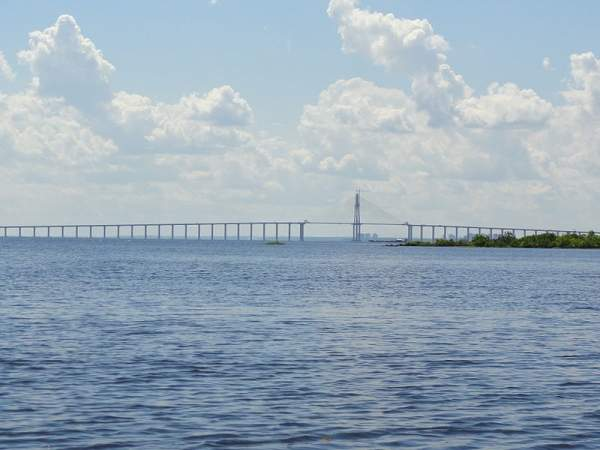 The Manaus-Iranduba bridge is a 3.6km river crossing over the Rio Negro River. Image courtesy of Dave Lonsdale.