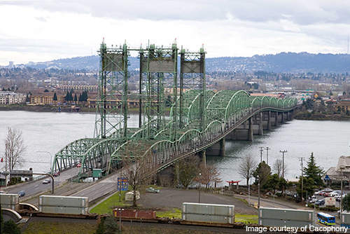 Columbia River Crossing was a planned replacement for the existing 90-year-old I-5 bridge.