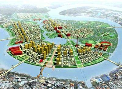 Ho Chi Minh City's new District 2 is a prosperous commercial centre.