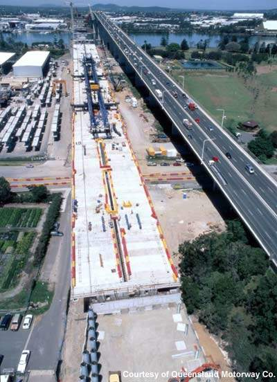 The A$1.88bn project will expand 12km of road.
