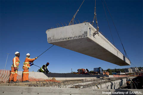 The GFIP was launched by the SANRAL to improve the infrastructural network in Gauteng.