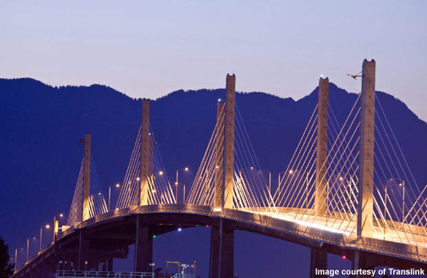 The Golden Ears Bridge is built across Fraser River in Vancouver, British Columbia, Canada, and was opened to traffic on 16 June 2009.