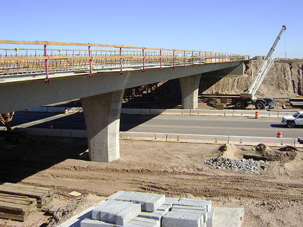 Brawley Bypass extends from north of Brawley SR 86  for up to 1.5 miles to the south of the eastern junction of SR 111 and SR 78 in Imperial County. Image courtesy of Skanska.