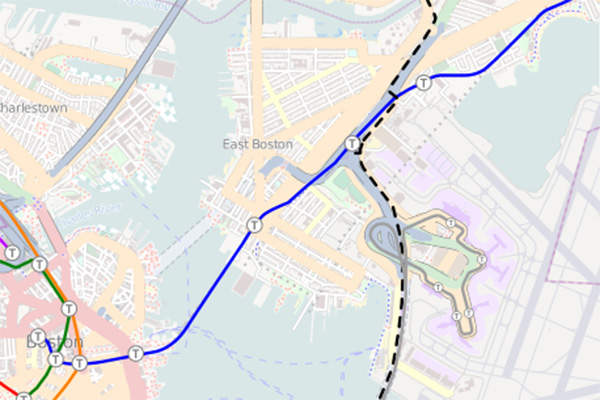The Silver Line Gateway project will extend the Silver Line bus rapid transit system to Chelsea in Massachusetts, US. Image courtesy of Pi.1415926535.