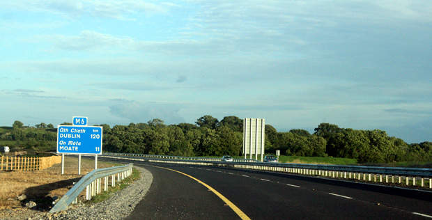 The Galway to Dublin motorway is the first major inter-urban corridor, which connects two cities in Ireland.