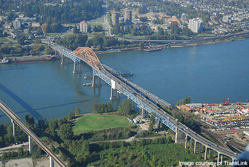 The Pattullo Bridge is owned by TransLink.