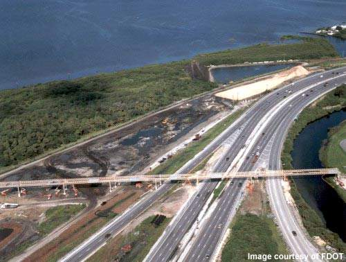 The SR 60 project will ease congestion on the roads around Tampa Airport.