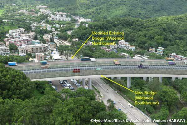 The construction of the Tolo and Fanling highways widening stage 1 project began in August 2009 and is scheduled for completion by 2014.