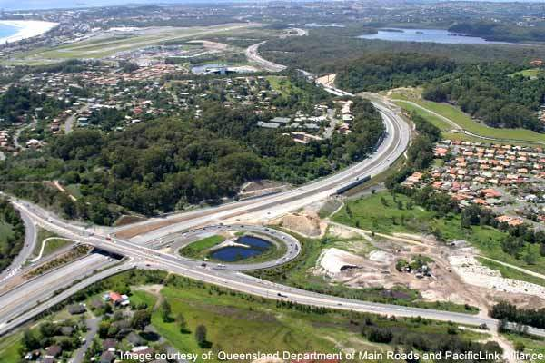 The Tugun Bypass will run for 7km from Currumbin, Queensland to the Tweed Heads Bypass in New South Wales.