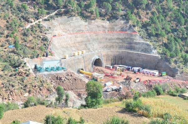 The Patnitop Tunnel became the longest road tunnel in the country when opened for traffic in 2017. Image courtesy of Leighton Welspun Contractors.