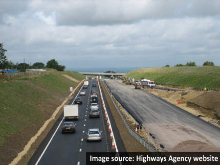 Traffic began using the northbound carriageway of the bypass in June 2008.