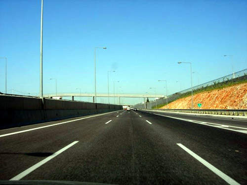 The Attiki Odos motorway is one of the safest in Europe.