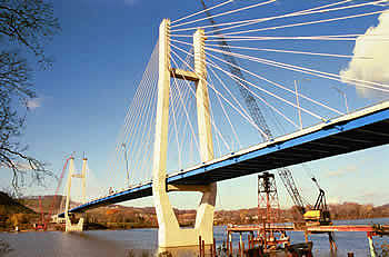 The Maysville Bridge is also known as the William H Harsha Bridge.