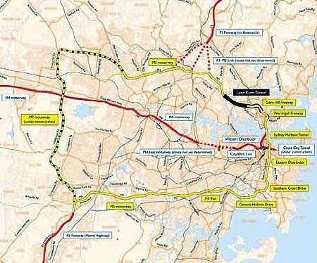 The Lane Cove Tunnel is a key link in Sydney's orbital motorway network.