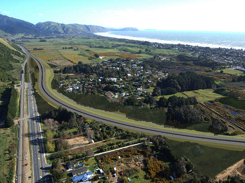 The Kāpiti Expressway is being developed by the NZ Transport Agency (NZTA). Image courtesy of Boffa Miskell.