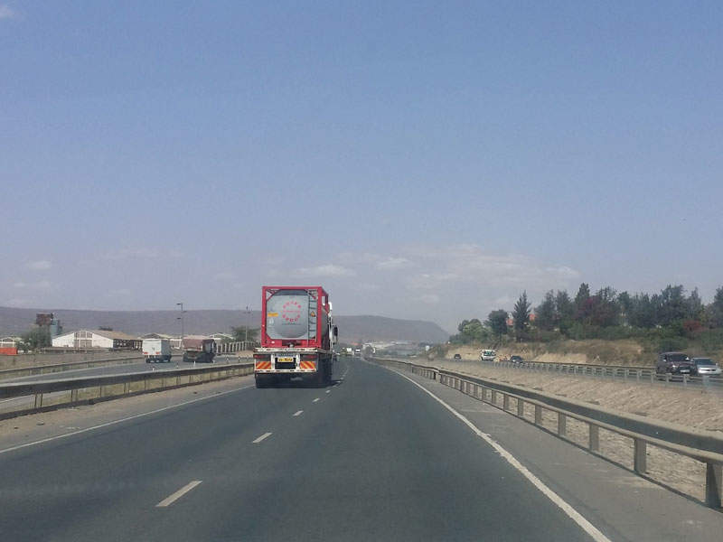 Bechtel won a design-build contract for the Nairobi-Mombasa Highway upgrade project. Image courtesy of Nairobi123.