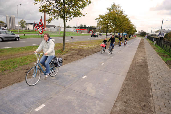 The SolaRoad pilot path was opened for the public in November 2014.