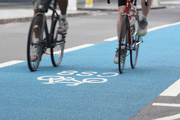 Cycle Superhighways (CS) connect outer London with central London. Image: courtesy of Transport for London.