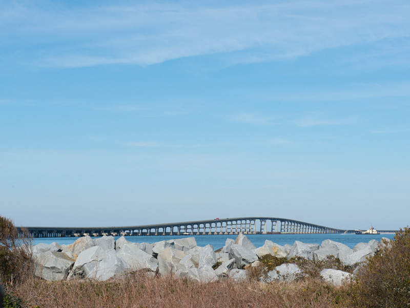 The new Bonner Bridge is being built by PCL Civil Constructors to replace the ageing Bonner Bridge. Image courtesy of NCDOTcommunications.
