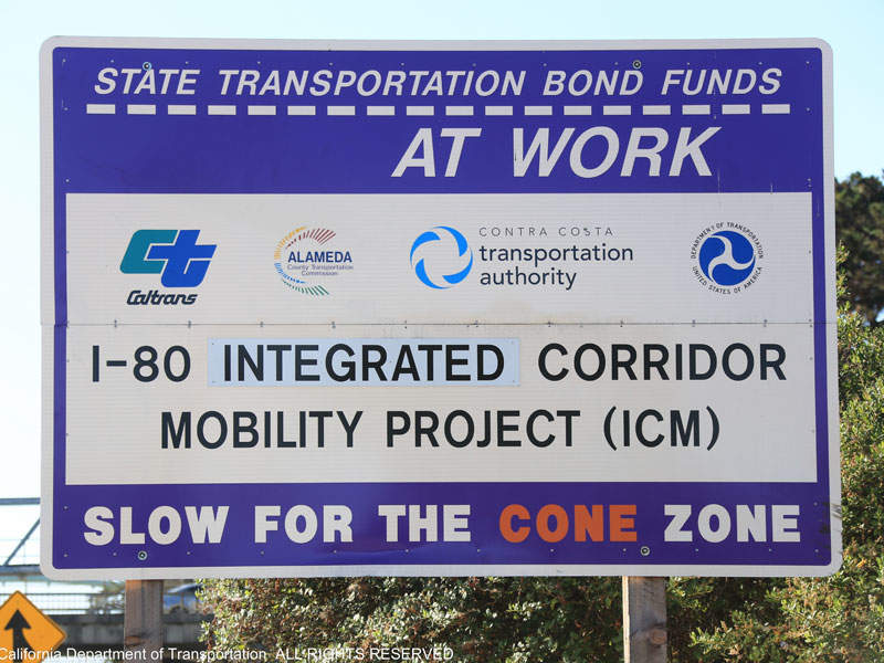 The I-80 SMART Corridor project takes a smart approach to upgrade the corridor. Image courtesy of I-80 SMART Corridor Project.