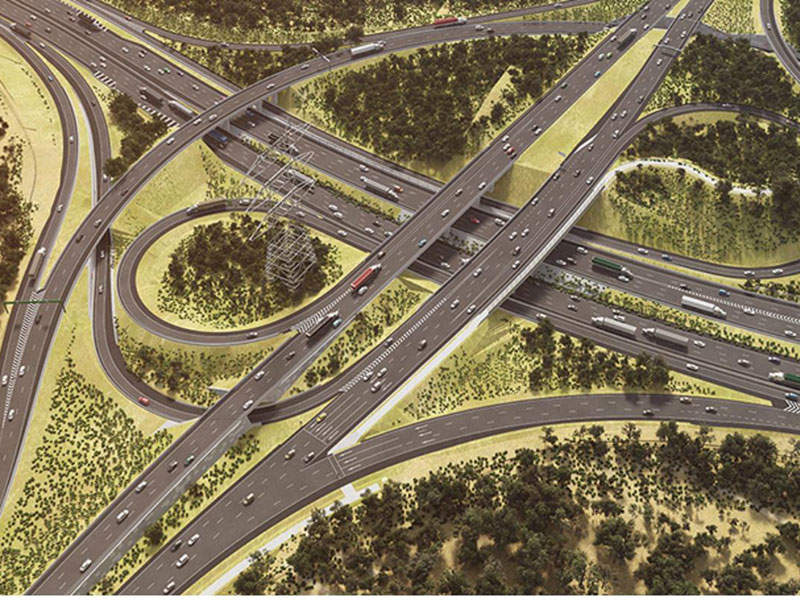 The Logan Motorway Enhancement Project will upgrade a 30km section of the Logan Motorway  in Australia. Image courtesy of CPB Contractors.