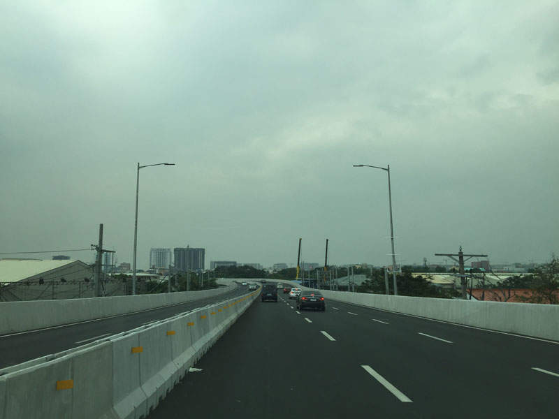 The NAIA expressway phase two was commissioned in June 2017. Image courtesy of RioHondo.