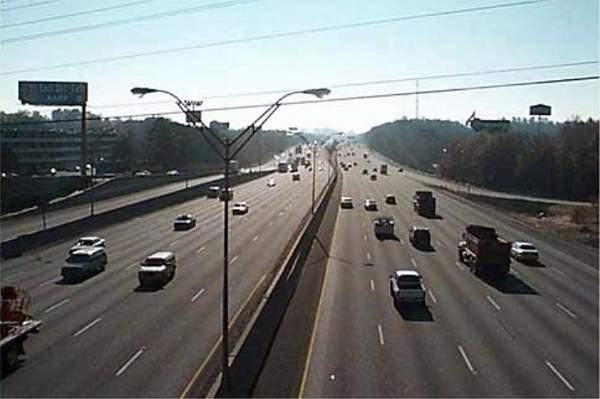 The project involves a 29.1-mile upgrade of Interstate 75 (I-75)/I-575 in Georgia, US. Credit: Georgia Department of Transportation (GDOT).
