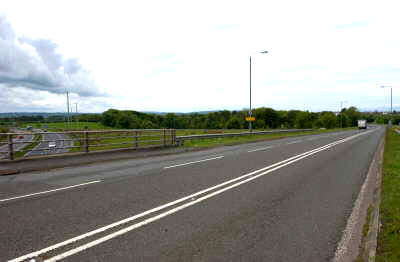 The M77 completed extension will run south from Malletsheugh, near Newton Mearns, to Fenwick in East Ayrshire.