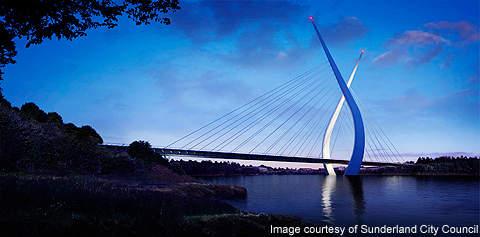The landmark bridge will connect Pallion and Castletown.