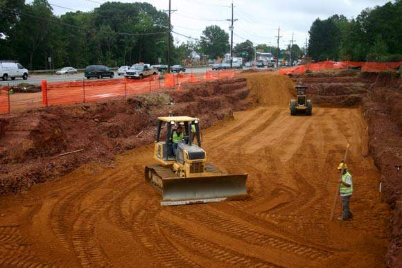 The project is intended to improve corridor traffic operations by eliminating substandard roadway geometric features.